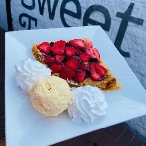 Manny's Berry Sauce Crepe